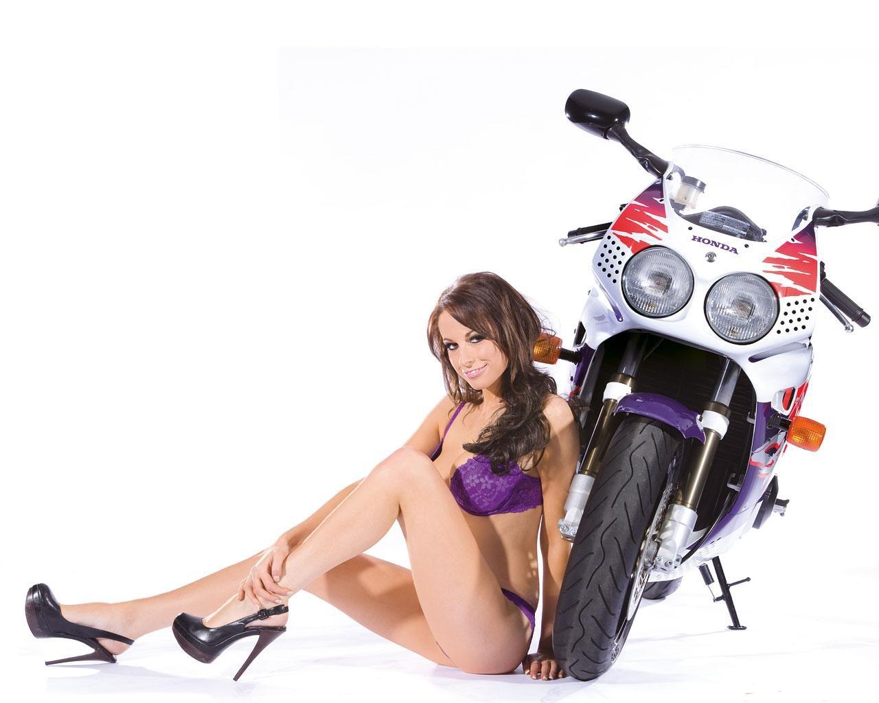 honda Cbr 900 Rr fireblade sexy girl lingerie